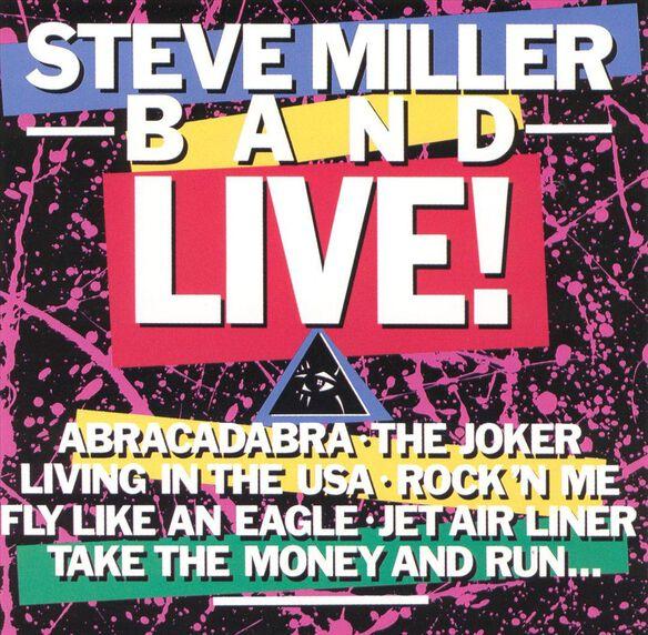 Steve Miller Band Live (Jmlp) (Shm) (Jpn)