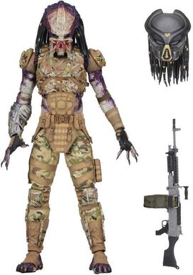 NECA The Predator 2018 Movie Emissary Predator Action Figure [Ultimate Version]