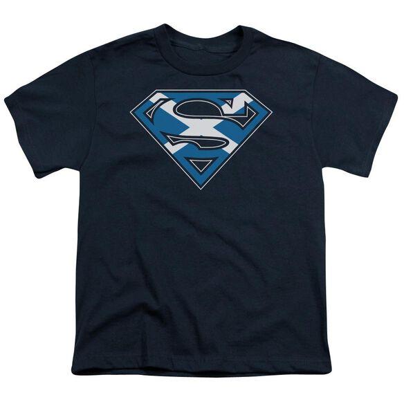 SUPERMAN SCOTTISH SHIELD - S/S YOUTH 18/1 T-Shirt