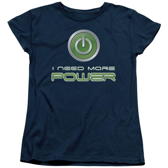 More Power Short Sleeve Womens Tee T-Shirt
