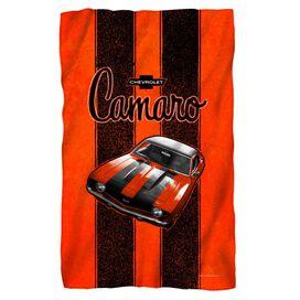Chevrolet Camaro Stripes Fleece Blanket