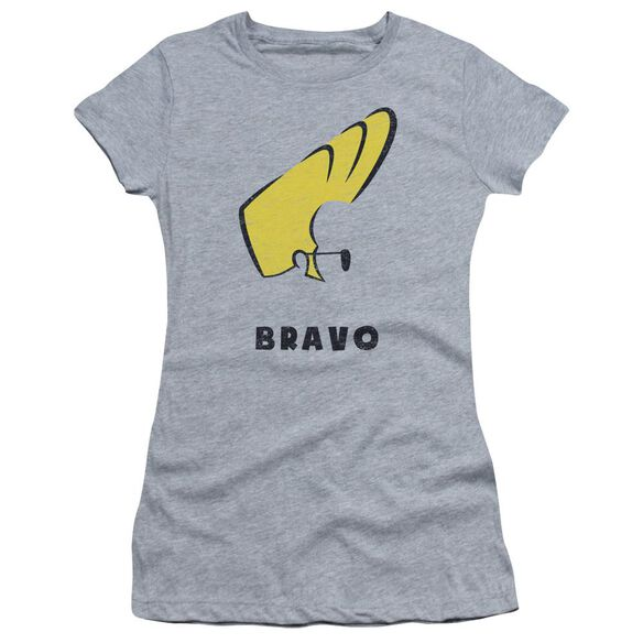 Johnny Bravo Johnny Hair Short Sleeve Junior Sheer Athletic T-Shirt