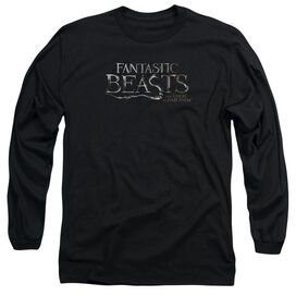 Fantastic Beasts Logo Long Sleeve Adult T-Shirt