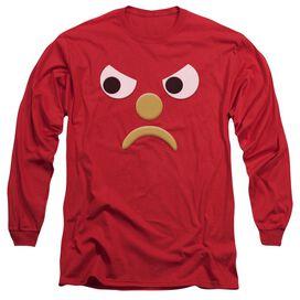 Gumby Blockhead G Long Sleeve Adult T-Shirt