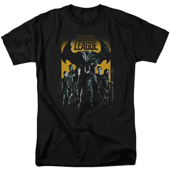 Justice League Movie Stand Up To Evil Short Sleeve Adult T-Shirt