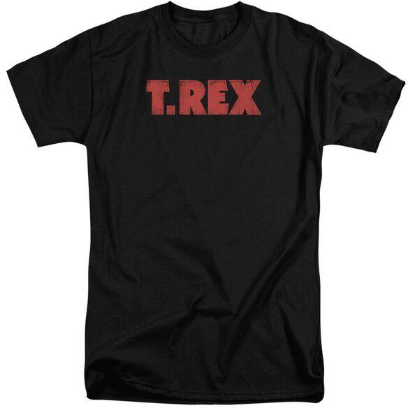 T Rex Logo Short Sleeve Adult Tall T-Shirt