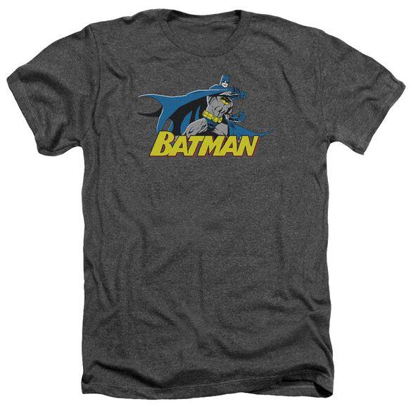 Batman 8 Bit Cape Adult Heather