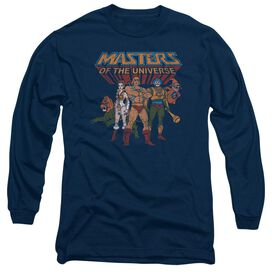 Masters Of The Universe Team Of Heroes Long Sleeve Adult T-Shirt