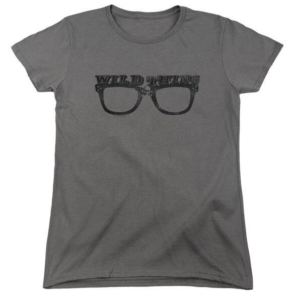Major League Wild Thing Short Sleeve Womens Tee T-Shirt