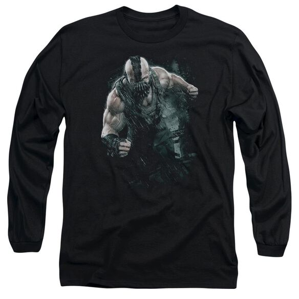 Dark Knight Rises Bane Rain Long Sleeve Adult T-Shirt