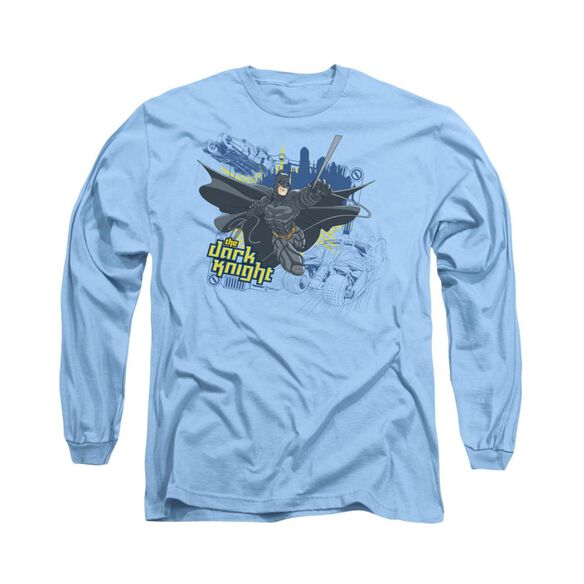 Dark Knight Jump Swing And Drive Long Sleeve Adult Carolina T-Shirt