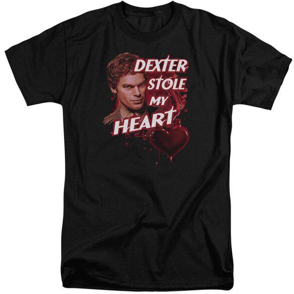 Dexter Bloody Heart Short Sleeve Adult Tall T-Shirt