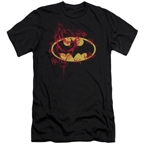 Batman Joker Graffiti Short Sleeve Adult T-Shirt