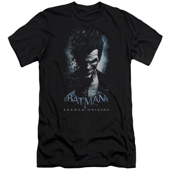 Batman Arkham Origins Joker Short Sleeve Adult T-Shirt