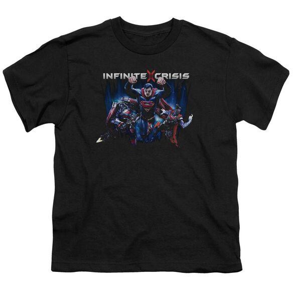 Infinite Crisis Ic Super Short Sleeve Youth T-Shirt