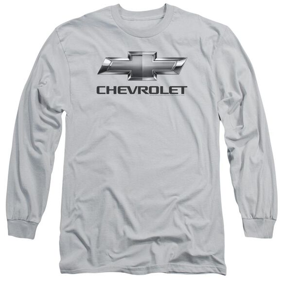 Chevrolet Chevy Bowtie Long Sleeve Adult T-Shirt
