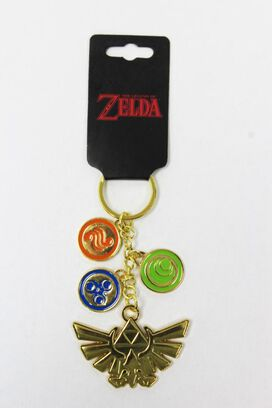 Legend of Zelda Charm Keychain