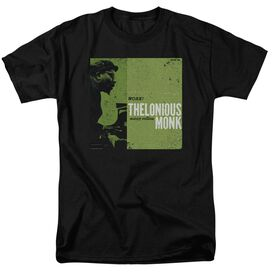 THELONIOUS MONK WORK - S/S ADULT 18/1 - BLACK T-Shirt