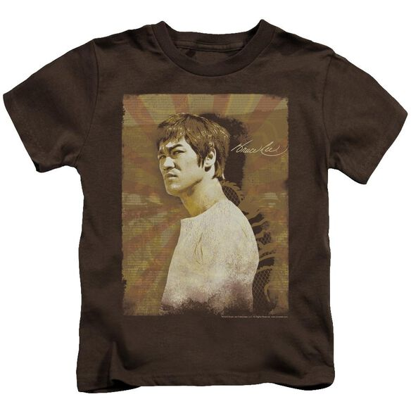 Bruce Lee Anger Short Sleeve Juvenile T-Shirt