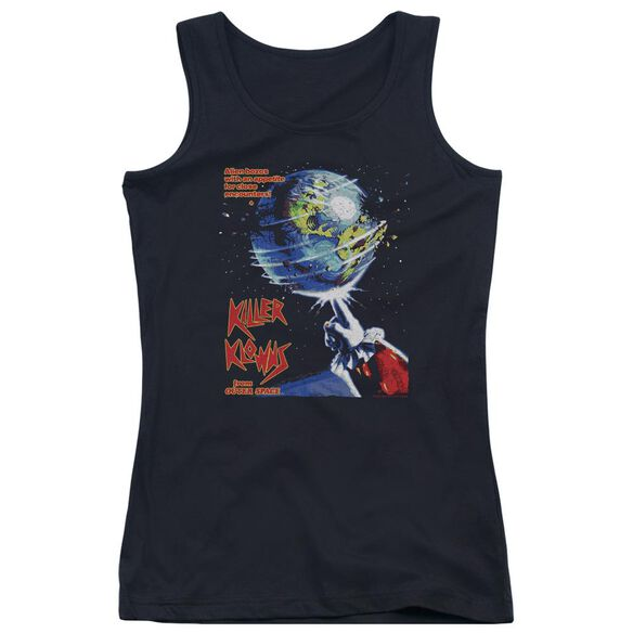 Killer Klowns From Outer Space Invaders Juniors Tank Top