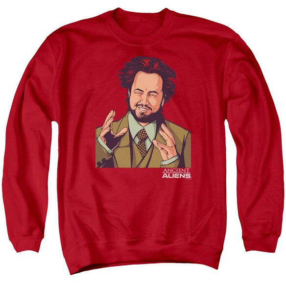 Ancient Aliens It Must Be Aliens Adult Crewneck Sweatshirt