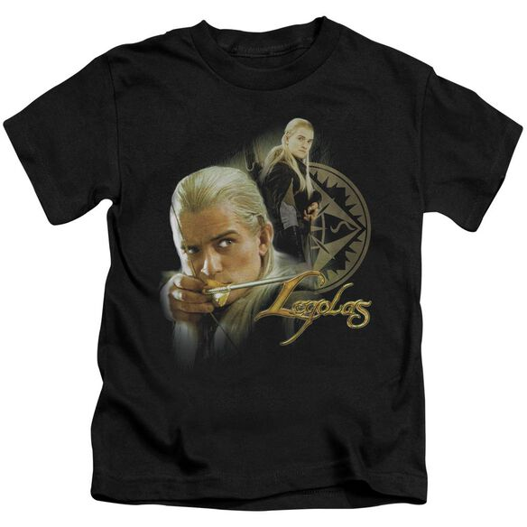 Lor Legolas Short Sleeve Juvenile Black Md T-Shirt