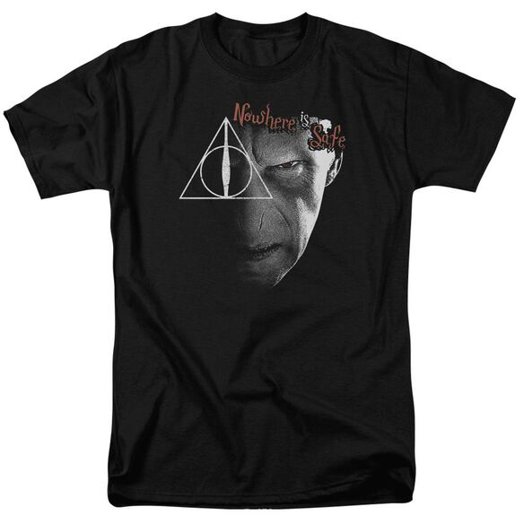 Harry Potter Nowhere Is Safe Short Sleeve Adult T-Shirt