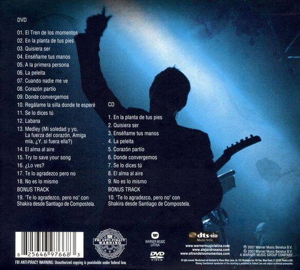 Tren De Momentos..Cd/Dvd