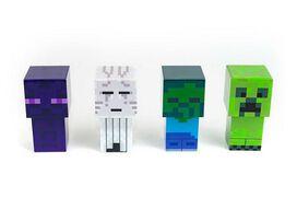 Minecraft Mini Mob 4-Piece Figure Mood Light Set
