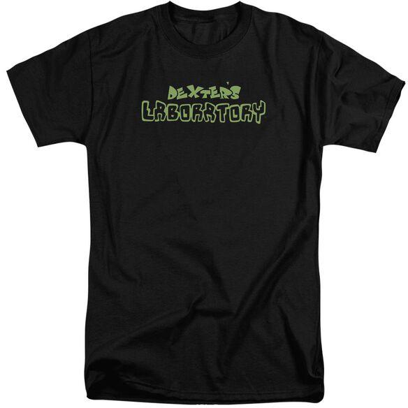 Dexter's Laboratory Dexter's Logo Short Sleeve Adult Tall T-Shirt
