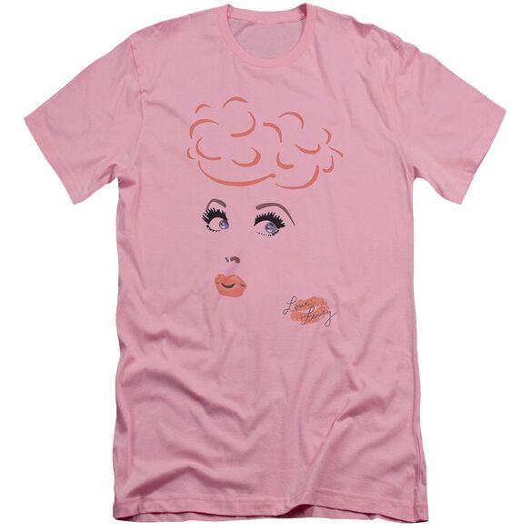 I Love Lucy Eyelashes Short Sleeve Adult T-Shirt