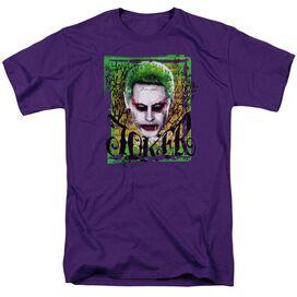 Suicide Squad Empire Joker Short Sleeve Adult T-Shirt