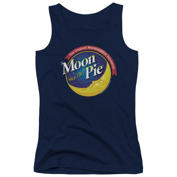 Moon Pie Current Logo Juniors Tank Top