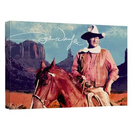 John Wayne Monument Man Quickpro Artwrap Back Board