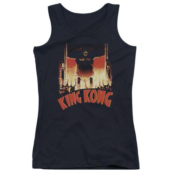 King Kong At The Gates Juniors Tank Top