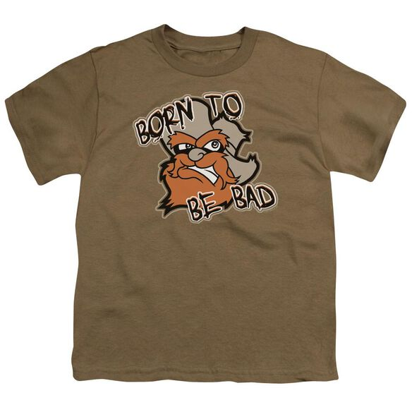 Born To Be Bad Short Sleeve Youth Safari T-Shirt