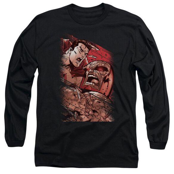 SUPERMAN SUPES VS DARKSEID-L/S T-Shirt