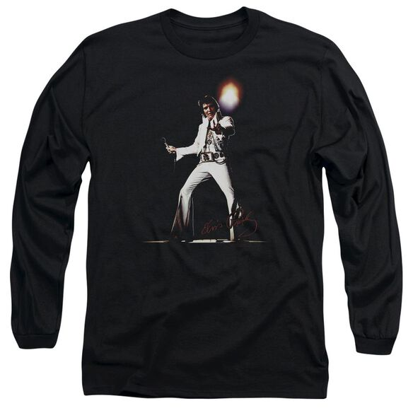 Elvis Presley Glorious Long Sleeve Adult T-Shirt
