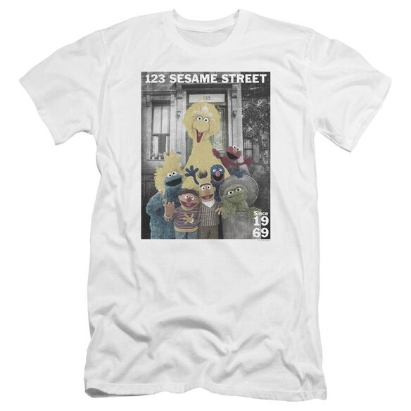 Sesame Street Best Address Premuim Canvas Adult Slim Fit