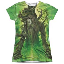 Lor Treebeard Short Sleeve Junior Poly Crew T-Shirt