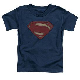 Batman V Superman Super Movie Logo Short Sleeve Toddler Tee Royal Blue T-Shirt