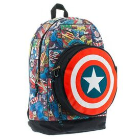 Captain America Pocket Eject Backpack