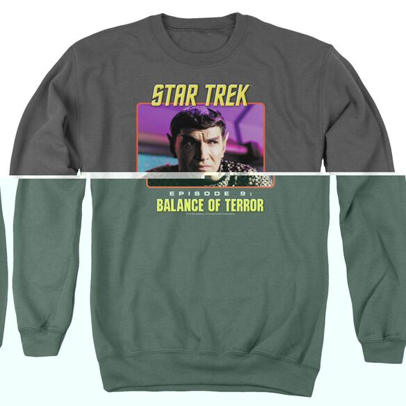 St Original Balance Of Terror - Adult Crewneck Sweatshirt - Charcoal