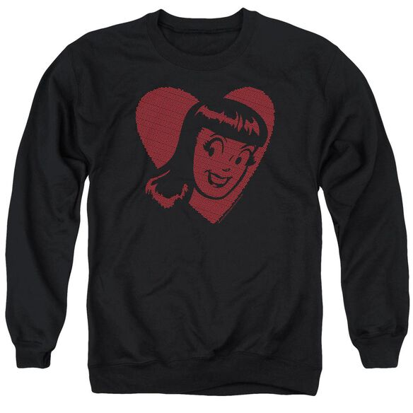 Archie Comics Veronica Hearts Adult Crewneck Sweatshirt