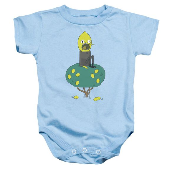 Adventure Time Lemongrab Infant Snapsuit Light Blue
