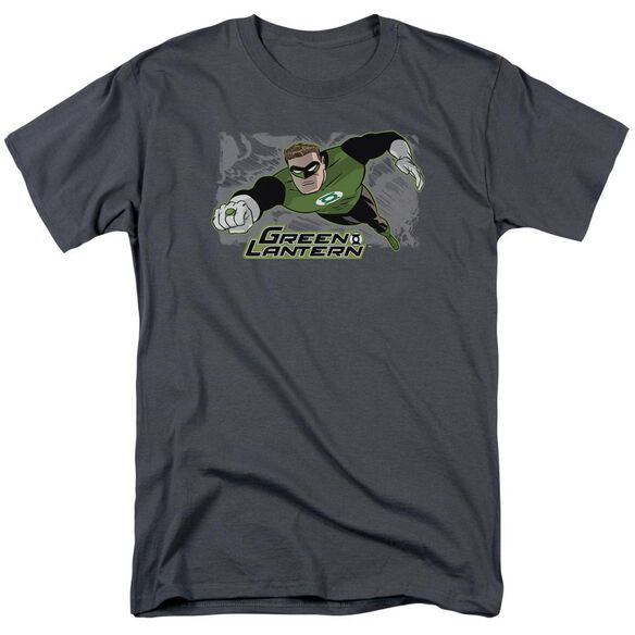 Jla Space Cop Short Sleeve Adult T-Shirt