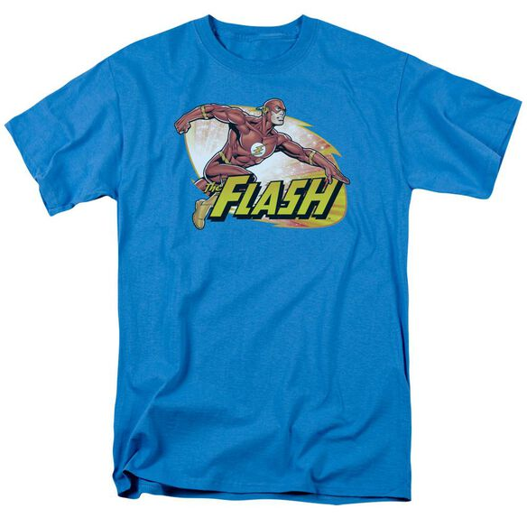 Jla Flash Zoom Short Sleeve Adult T-Shirt
