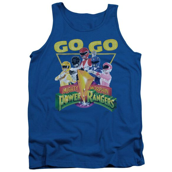 Power Rangers Go Go Adult Tank Royal