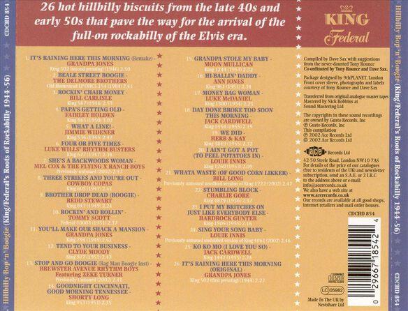 King Hillbilly Bop & Boog