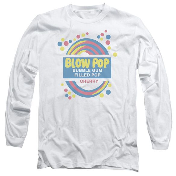 Tootsie Roll Blow Pop Label Long Sleeve Adult T-Shirt